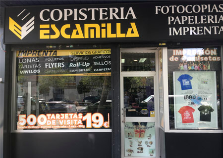 Copistería Imprenta Escamilla